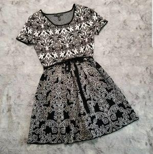Jessica Simpson Fit & Flare Sweater Dress M